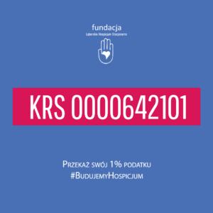 1% podatku dla Fundacji Lęborskie Hospicjum Stacjonarne